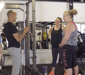 personal training at the gym crowborough
